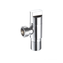 new design chrome plated 90 degree steam brass function of angle stop valve
