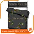 Новый дизайн постельных принадлежностей лист кровать набор ткани для продажи
