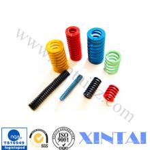 Resorte de compresión de bobina grande de carga pesada personalizada Qualitified