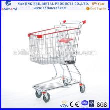 Chariot d'achat de supermarché avec bonne qualité