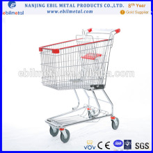 Supermarket Shopping Trolley with Good Quality