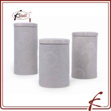 Воздухонепроницаемые наборы из керамической канистры с крышкой