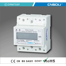 Single Phase Two Wire DIN-Rail RS485 Kwh Meter