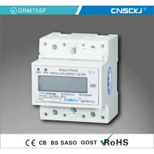Многотарифный на DIN-рейку однофазный ЖК-дисплей Электронный счетчик электроэнергии /счетчик электроэнергии /кВтч метр