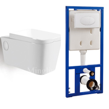 hot sale wc wall mounted hunging toilet seat with conceal cistern