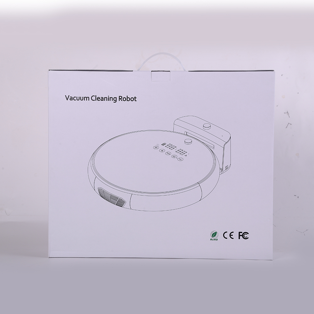 Vacuum Cleaning Robot With LED Screen (3)