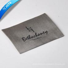 Etiquetas tejidas modificadas para requisitos particulares elegantes de la etiqueta / del nombre para los trajes