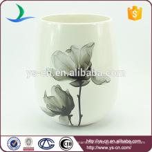 YSwb0010-02 Élégance décalque en céramique bac à déchets usine