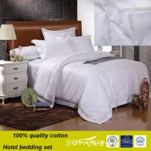 Bom hotel da tela do cetim do algodão da reputação grupo usado da roupa de cama do comforter do fundamento