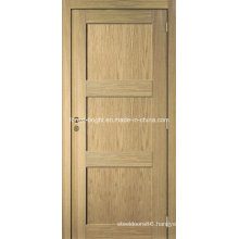 Good Quality Oak Veneer Modern MDF Door