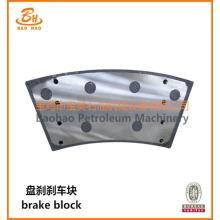 Drilling Rig Brake Block dari Hydraulic Disk Brake