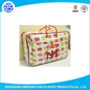 Sacchetti di imballaggio della coperta del cuscino della trapunta del sacchetto della chiusura lampo di plastica del PVC