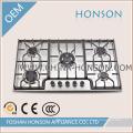 Table de cuisson à gaz en acier inoxydable avec bonne qualité