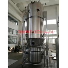 Máquina secadora de lecho fluido