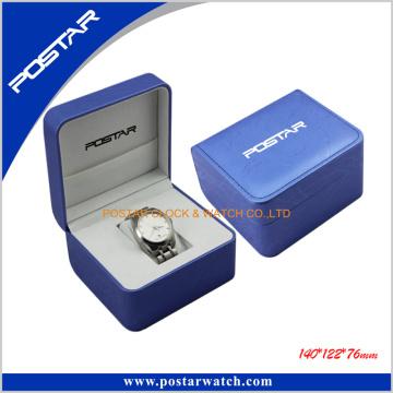 Caja de reloj de cuero de la PU Aceptar Logotipo personalizado