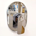 Wall Mounted Bathroom Shower Faucet Brass