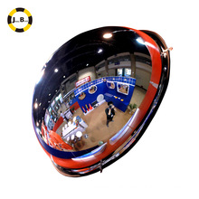 safety 360 degree view full Acrylic convex mirror, dome convex mirror/