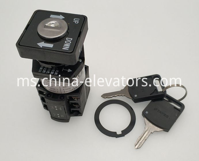Key Switch for Otis Escalators DAA177CD1