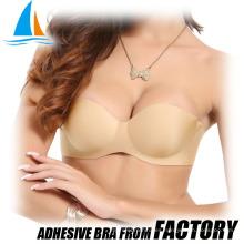 Adhesivo para levantamiento de senos push up Sujetador de algodón indio