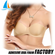 Breast lifting adhesive push up Indian cotton bra