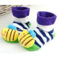 2016 heißer Verkauf 3D Anti-Slip Phantasie Baumwolle Baby Socken