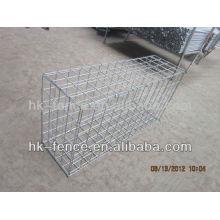 Banco de rio galvanizado proteger gabião cesta / caixa de gabião / colchão Reno (fábrica)