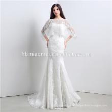 2017 Pas Cher champagne couleur lacé robe de bal robe luxe hors épaule livraison gratuite robe de mariée en gros