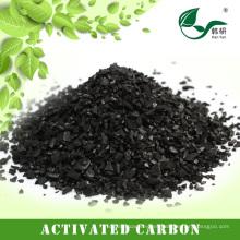 Carbón activado a base de carbón antracita a partir de pellets