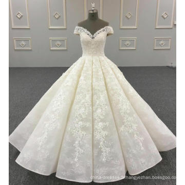 Robe de bal de luxe robe de mariage dernière conception WT272