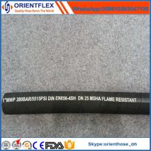 Wire Spiraled Hydraulikschlauch für En856 4sh / 4sp