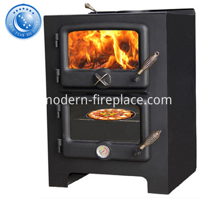 Wood Burning Stoves With Oven Steel Plate