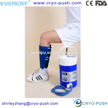 cryotherapy compression therapy machine for calf