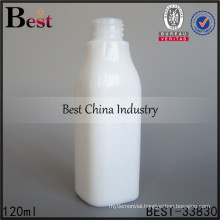 120ml white square glass lotion bottle, silk printing service, OEM, we do best for you