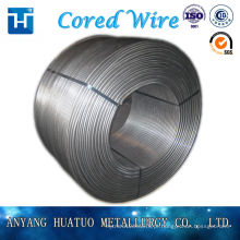 13mm CaSi Cored Wire Fabricante