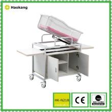 Детская коляска для регулируемой деревянной кровати (HK-N218)