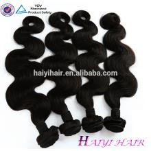 Großer Vorrat keine Verwicklung kein verschüttetes Jungfrau remy wholesale roher brasilianischer Haargroßverkauf