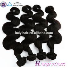 Los mejores vendedores de cabello Body Wave Virgin Indian Hair 100 cabello humano crudo sin procesar