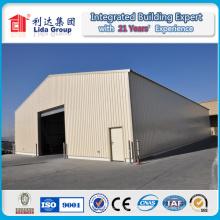 Oficina prefabricada de estructura de acero ligero y taller y almacén