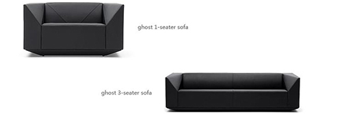Ghost 3 Seater Sofa