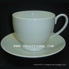Чашка и блюдце (CY-P513)