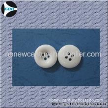4h Plastic White Chalk Button For Over Coat