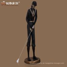 Großhandel Bronze poliert neue maßgeschneiderte Golfer Figur