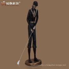 оптовая бронзовый полированный новый подгонянный рисунок гольфист