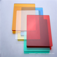 Wearhouse roofing sheet wear resistance solid polycarbonate