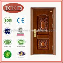 Copper Coated Anti Theft Steel Door KKD-503