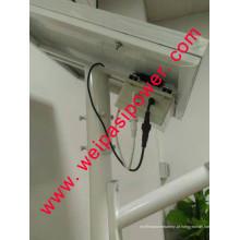 12W Solar Street Light, bateria de lítio, casa ou exterior usando lâmpada solar, luz de jardim ao ar livre