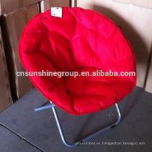 Steel folding moon leisure chair
