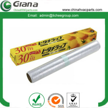 PVC jumbo film rolls for food package