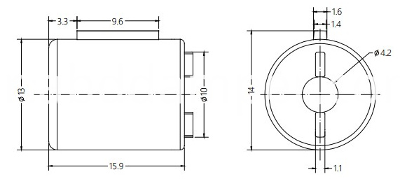 Small Cover Plate Damper