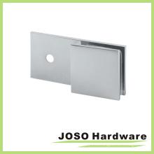 Muro a vidrio 180 grados de vidrio rectagular sosteniendo soporte (BC201-180)